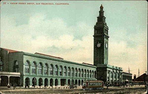 Union Ferry Depot San Francisco, California Original Vintage - Ferry Union Depot
