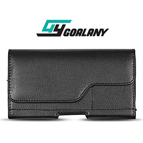 - GOALANY Holster Case Compatible with Galaxy S10 / Galaxy S10+ Plus / S10e, iPhone [Premium Durable Pouch for Extra Large Phone] (L9)