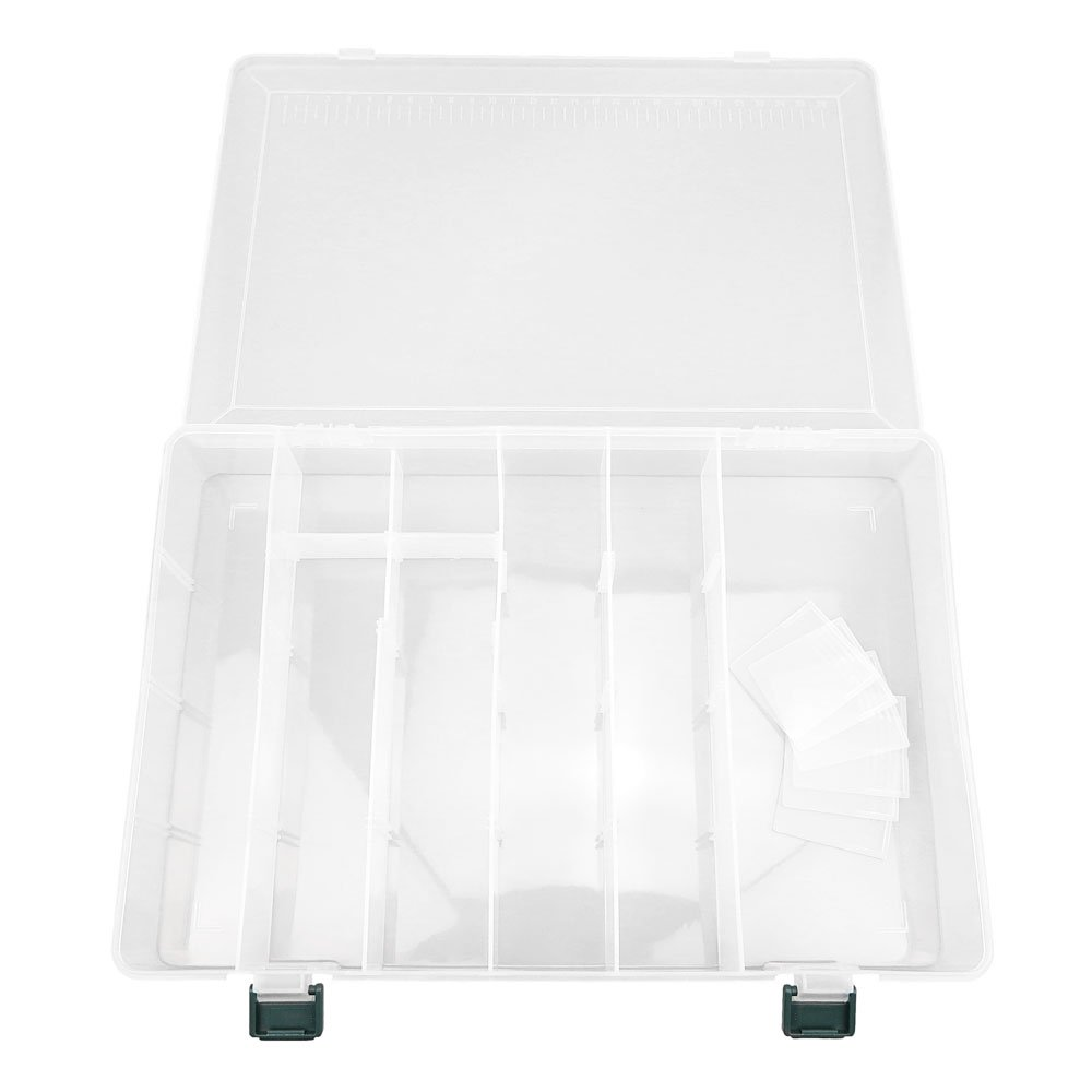 3x BOX313 Clear Beads Tackle Box Fishing Lure Jewelry Nail Art Small Parts Display Plastic transparent Case Storage Organizer Containers kisten boxen boite by Tackle Boxes