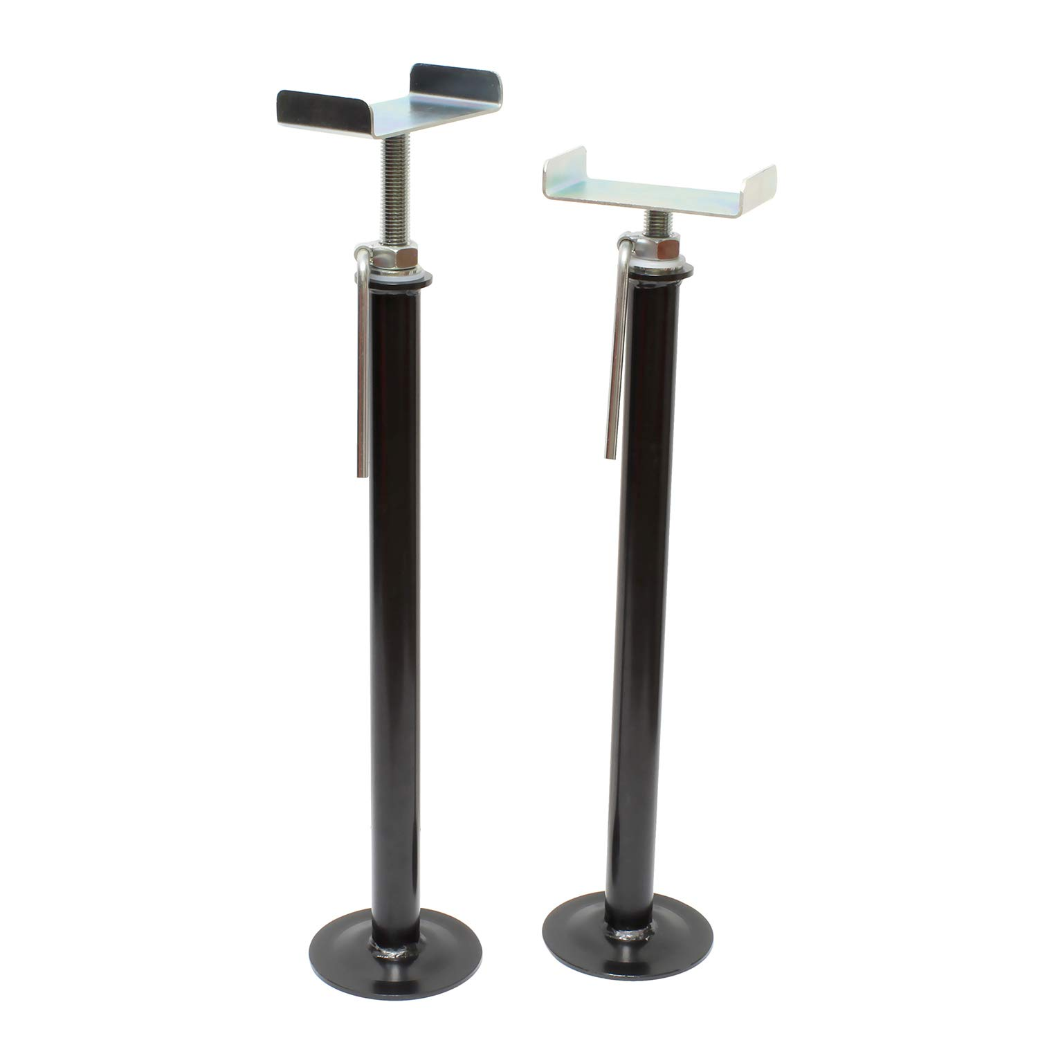 Dumble RV Slide Out Stabilizer Jacks - 16in-28in Travel Trailer Stabilizer Jacks Camper Jack Stands, 2 Piece Set by Dumble