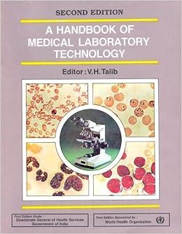 Buy Handbook Medical Laboratory Technology: 2nd edition Book Online