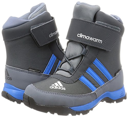 adidas Kinder Wanderstiefel ADISNOW dark grey/shock blue s16/onix 38 2/3