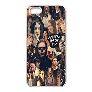FOR Apple Iphone 5 5S Cases -(DXJ PHONE CASE)-American Horror Story-PATTERN 20