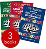Chambers Araucaria Crossword Collection x 3 PB (Paperback) RRP £20.97