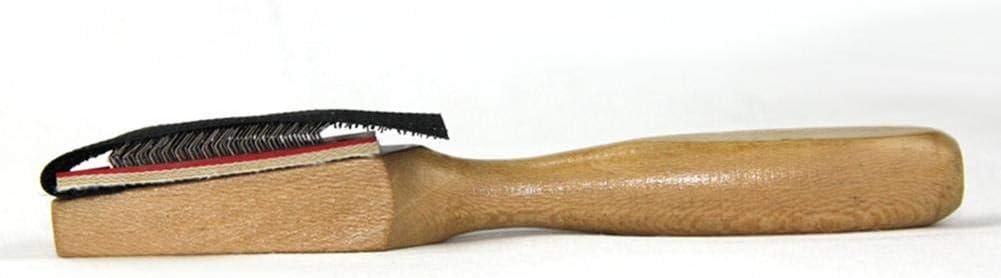 dewdropy Schuhb/ürste 16x3x2.5cm Tanzschuhe Reinigungsb/ürsten Schuhb/ürste Holz Wildledersohle Drahtb/ürstenreiniger