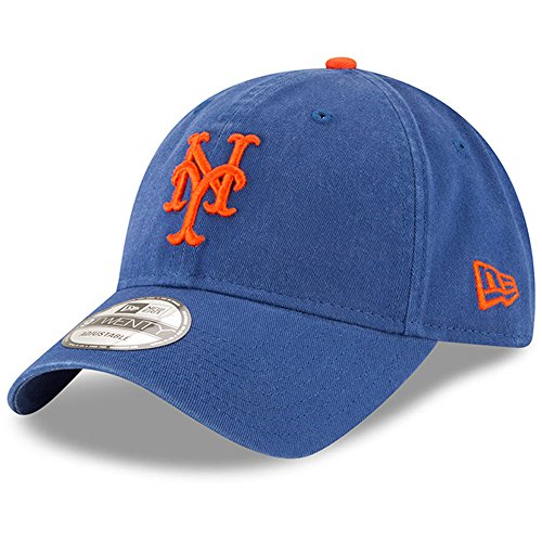 New York Mets New Era Alternate Replica Core Classic 9TWENTY Adjustable Hat Royal -