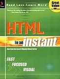 HTML in an Instant, Ruth Maran, 0764536273