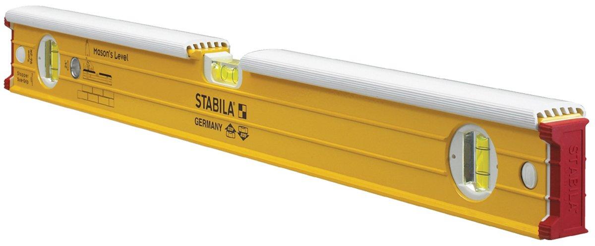 Stabila 36424 Type 196-2K 24 Mason Level with Dead-Blow Shield Bon Tool