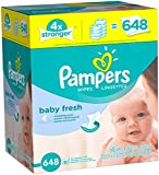 Pampers Baby Wipes Baby Fresh 9X Refill, 648 Count Image