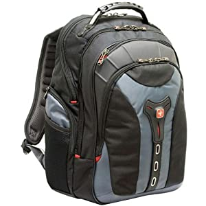 "Amazon.com: SwissGear 17"" Gray Notebook Backpack: Computers ..."