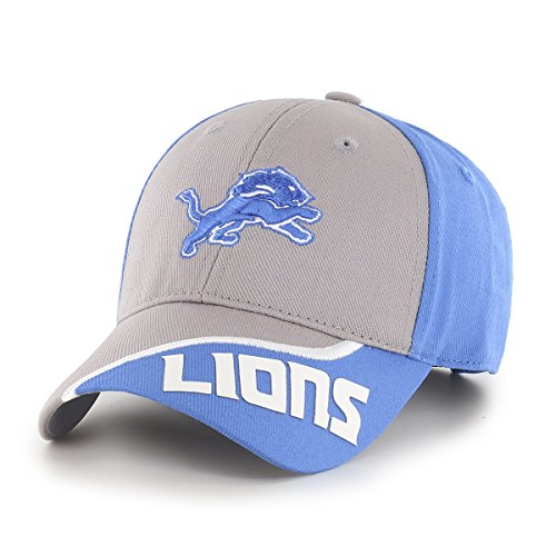 NFL Detroit Lions Children Sprout Ots All-Star MVP Adjustable Hat, Kids, Blue Raz ()