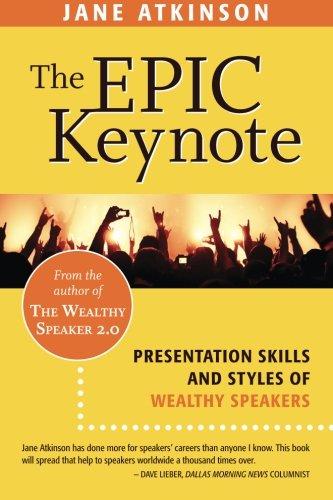 Epic Keynote Presentation Wealthy Speaker
