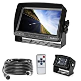 Backup Camera, 175º Wide Angle Easy Install HD Rear View Back Up Waterproof