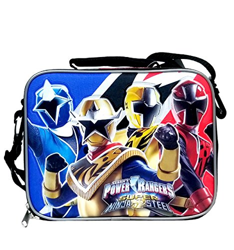 Sabans Power Rangers Insulated Lunch Bag/Lunch Box