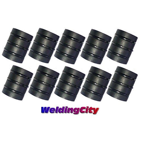 WeldingCity 10-pk Nozzle Adapter 34A for Lincoln Magnum 200-400 Tweco No.2-No.4 MIG Welding Guns by WeldingCity