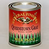 General Finishes PQG Milk Paint, 1 pint, Queenstown Gray