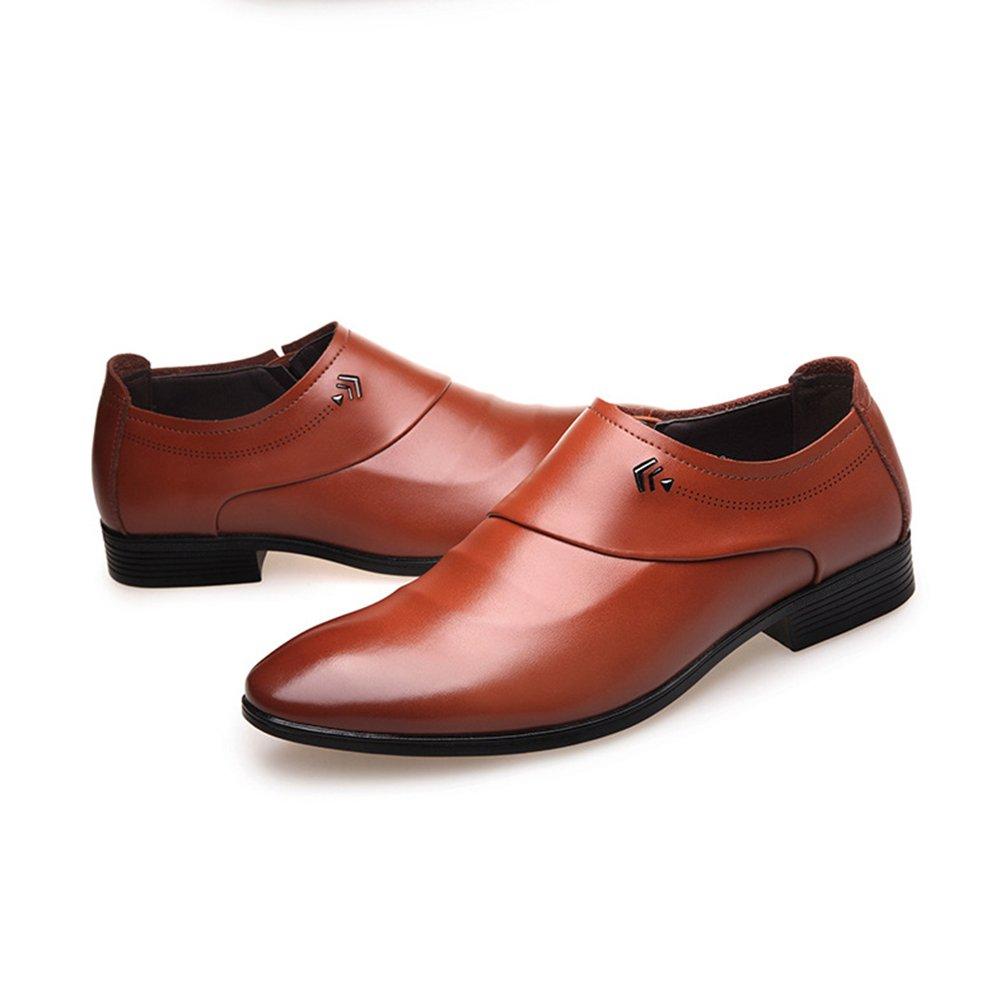 XIGUAFR Chaussures de Sport pour Hommes Casuals Cor/éens Chaussure en Cuir de Mar/ée pour Jeunes Respirant