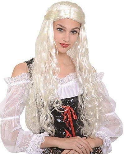 Fancy Me Largo de Mujer Color Blanco Dragon Reina Thrones Juego ...