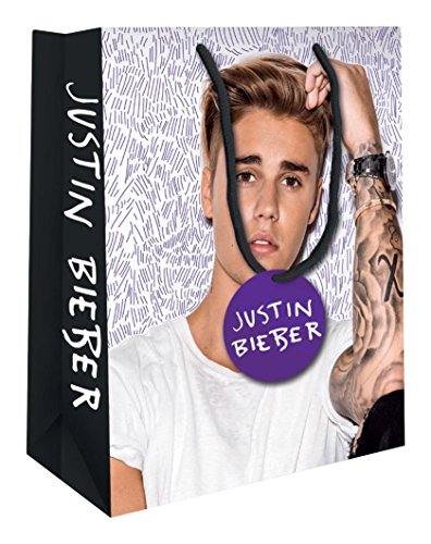 Justin Bieber Official Large Gift Bag