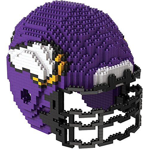 Minnesota Vikings 3D Brxlz - Helmet -