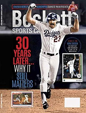 Beckett Sports Card Monthly Amazoncom Magazines