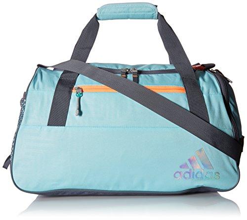 adidas Squad III Duffel Bag, One Size, Clear Aqua/Glow (Duffle Bags For Girls)