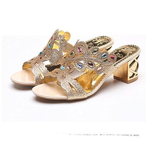 Schiava Donna SANFASHION Damen Schuhe oro 144155 SANFASHION Alla Bekleidung 44wg0qY