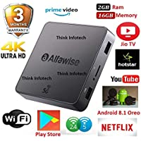 Alfawise A8 Pro Mini PC Android 8.1 2GB/16GB Rockchip 3229 2.4G+5G WiFi LAN TV Box,x96 Mini,tx3 Mini,x96 max,mecool Android tv Box