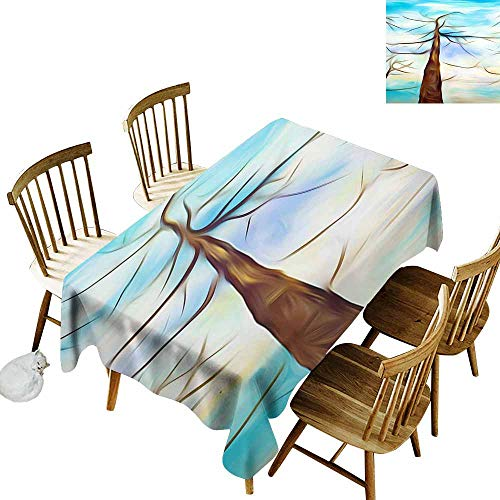 SLLART Wholesale tablecloths Abstract Chaotic Painting Design Wallpaper, Straight W 60