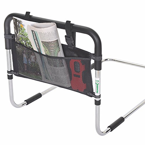 Essential Medical Supply Three Pocket Accessory Pouch for Bed Rail by Essential Medical Supply