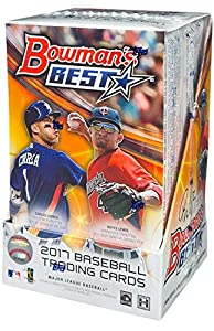 2017 Bowman's Best Baseball Hobby Box (12 Packs of 5 Cards: 4 Autographs, 4 Refractor Parallels)