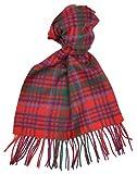 Lambswool Scottish Grant Modern Tartan Clan Scarf Gift