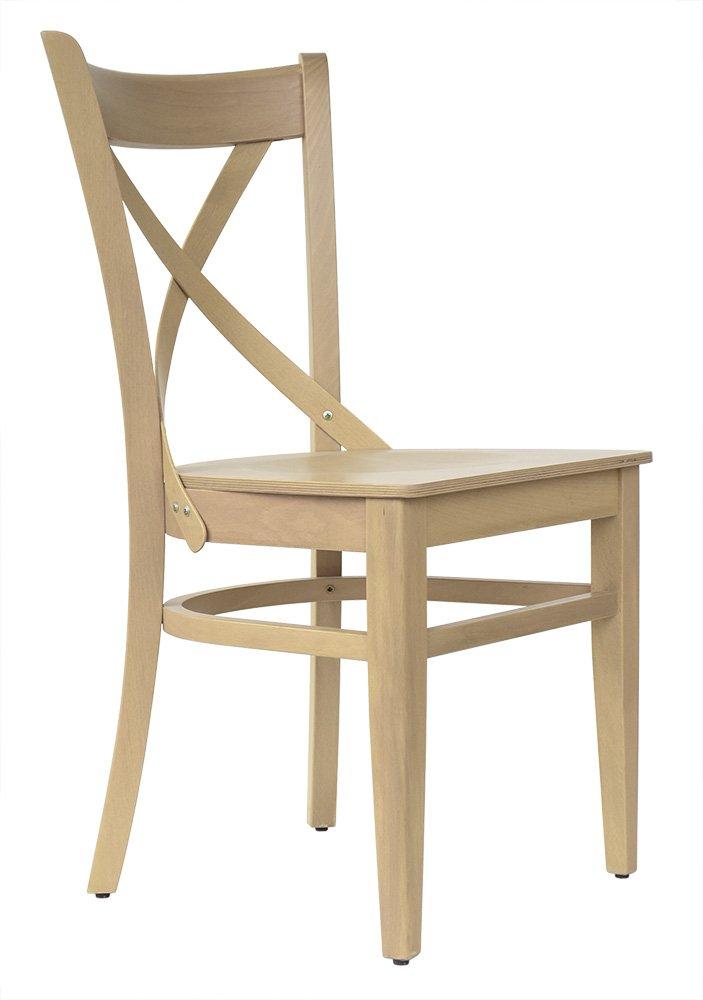 Abritus Set 2 Stühle Stuhl Esszimmerstuhl Holzstuhl Buche Massivholz Natur-Honig Natur-Honig Natur-Honig lackiert »T010« a76390