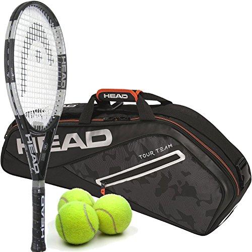 HEAD Liquidmetal 8 Oversized/Extended Titanium/Graphite 16x19 Tennis Racquet (4 3/8