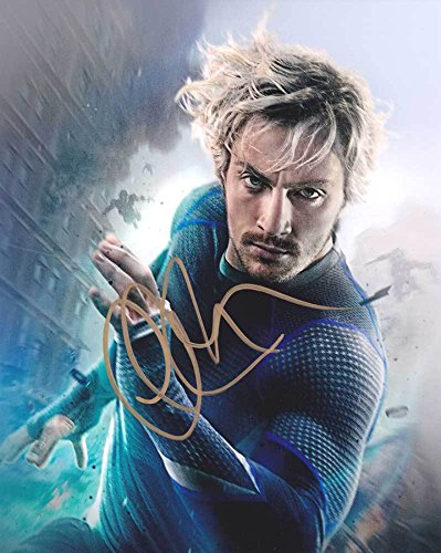 Aaron Taylor-Johnson - The Avengers - Signed 8x10 Photograph MINT with COA & Proof - Ford Pics Tom