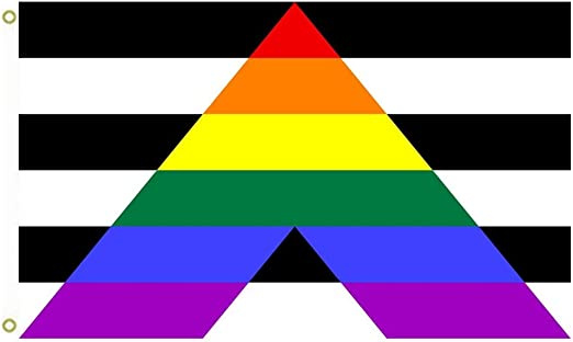 Straight Ally Flag 5ft x 3ft