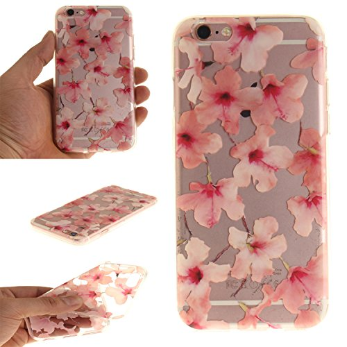 "MOONCASE iPhone 6 / 6S Hülle Case,Slim Handyhülle Schutzhülle Rutschfestem TPU Soft Backcover Bumper Case für iPhone 6S / iPhone 6 (4.7 "") TX12"