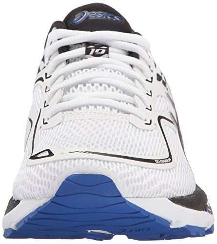 Shoes Black Womens Purple Asics White Blue Cumulus® Gel 19 wfv6Zq