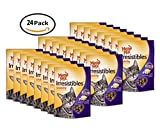 PACK OF 24 - Meow Mix Irresistibles Cat Treats - Crunchy - Chicken & Turkey - Net Wt. 2.5 OZ (71 g) Each