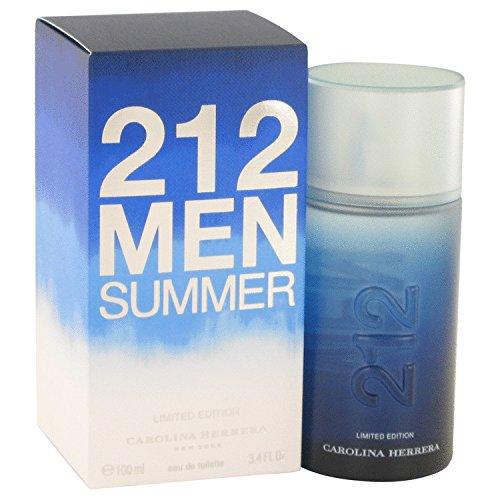 212 SUMMER by Carolina Herrera EDT SPRAY 3.4 OZ (LIMITED EDITION 2013)