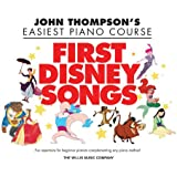 First disney songs  piano (John Thompson's Easiest Piano Course)