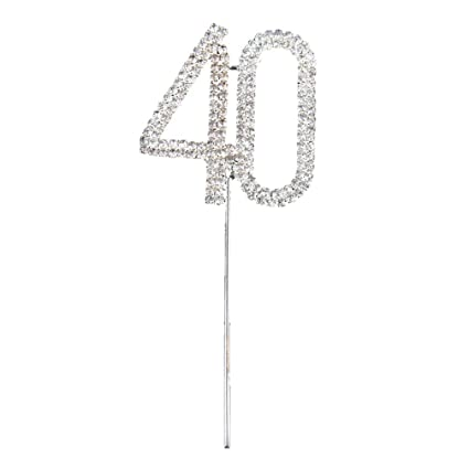 Amazon.com: Cake Topper 60 - Szs Crystal Rhinestone Bling ...