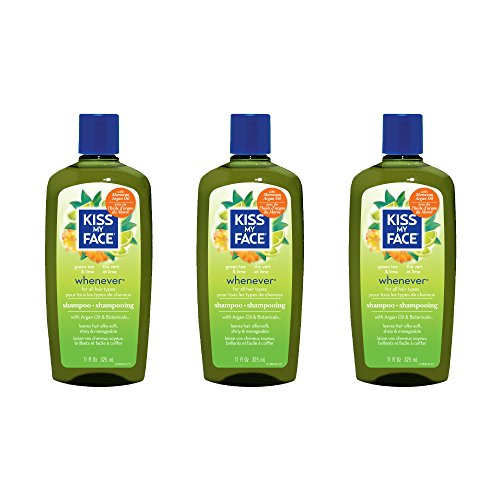 Kiss My Face Whenever Shampoo, Shampoo with Green Tea & Lime, 11 Ounce (Pack of - Aromatherapeutic Conditioner Hair