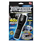 Bell and Howell Taclight High-Powered Tactical Flashlight with 5 Modes & Zoom Function