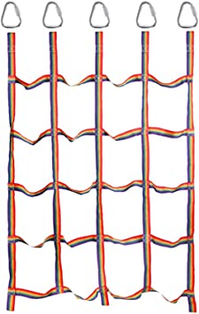 BESPORTBLE Redes de Escalada de Entrenamiento Red de Cuerda ...
