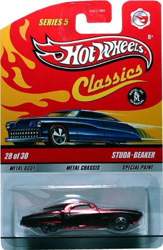 Hot Wheels 2006 Classics Series 3 10 of 30 RED PLYMOUTH KING KUDA 1:64 Scale Die-cast Body/chassis Special Paint Hot Wheels G Machines