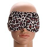 Soft Travel Sleep Rest 3D Eye Shade Sleeping Mask Cover Blinder Aid Eyemask (Black)