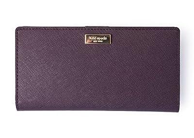 Kate Spade Stacy Laurel Way Wallet WLRU2673 Mahogany