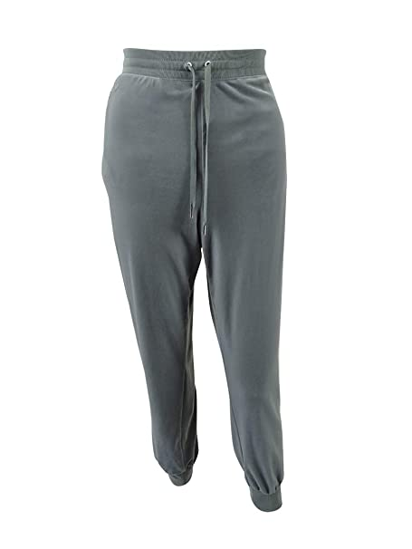 4b2bcb68e82ecc Image Unavailable. Image not available for. Color  Lauren Ralph Lauren  Women s Velvet Jogger Pants (M ...