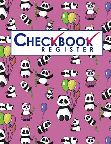 Checkbook Register - Panda Checkbook Cover